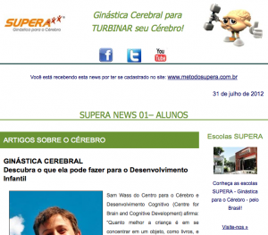 SUPERA News  ALUNOS